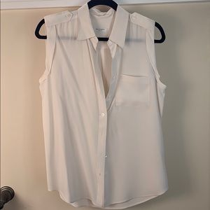 Cream Silk Equipment Tank